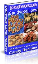 300 Mouth watering Candy Recipes