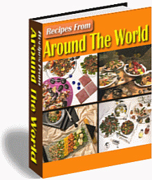 Recipes From Around The World Volume 1